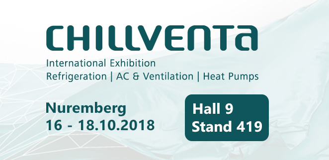 We are taking our place at Chillventa Nuremberg