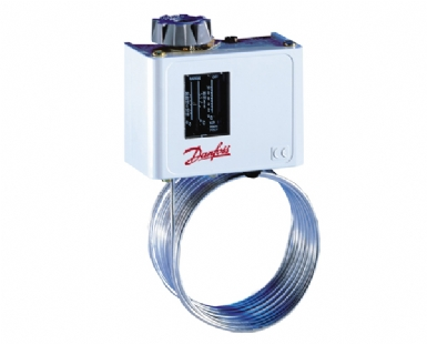 Danfoss 060L110866 KP63 Thermostat (-50oC / +10oC)